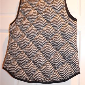 J. Crew Jackets & Coats - J Crew Herringbone Vest